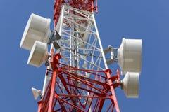 wieża telekomunikacyjnych Zdjęcia Royalty Free