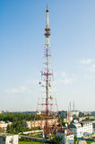 wieża tv Zdjęcia Royalty Free