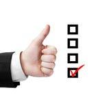 Wie und Checkliste Lizenzfreie Stockfotografie