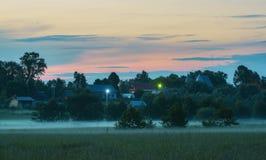 Wieś w Rosja Obraz Royalty Free