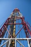 wieża wiertnicza Fotografia Royalty Free