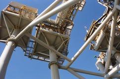 wieża wiertnicza Zdjęcie Stock