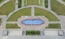 Wieży Eifla Bahria grodzki odgórny widok Zdjęcia Royalty Free