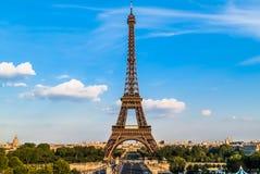 Wieży Eifla Paris miasto Francja Zdjęcia Stock