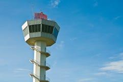 wieży kontrolnej lotniczy ruch drogowy Zdjęcia Stock