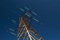 wieża energii elektrycznej Fotografia Royalty Free
