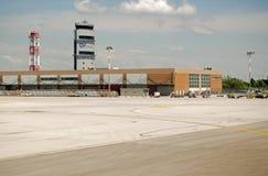 Wieża Kontrolna, Marco Polo lotnisko, Wenecja Zdjęcie Stock