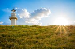 Wieża obserwacyjna na horyzoncie Fotografia Stock