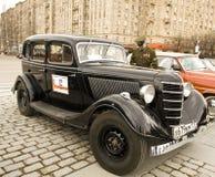 Wiec klasyczni samochody, Moskwa Obraz Stock