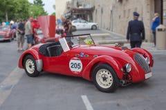Wiec starzy samochody fotografia royalty free