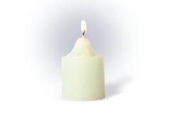 świeca white Fotografia Stock