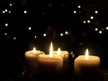 świece Zdjęcia Stock
