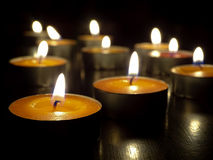 świece Zdjęcie Royalty Free