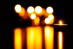 świece fotografia stock