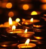 świece modlitewne Fotografia Stock