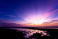 wieczór światło słoneczne Obraz Stock
