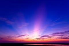 wieczór światło słoneczne Obrazy Royalty Free