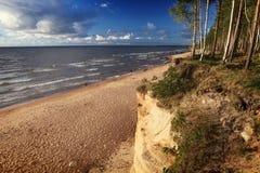Wieczór Baltic plaża obrazy royalty free