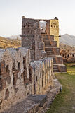 wieczór fortu łuny ind kumbhalgar wierza Fotografia Stock