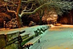 wieczór gór s zmierzchu ural zima Fotografia Stock