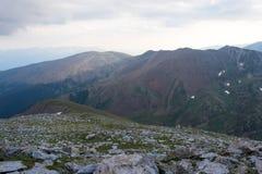 Wieczór góry Pyrenees Zdjęcia Stock