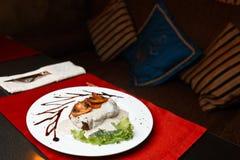 Wieczór jedzenie Fotografia Stock