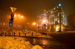 wieczór Kiev Fotografia Royalty Free
