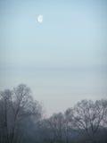 Wieczór księżyc Fotografia Stock