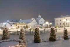 Wieczór Minsk Zdjęcia Royalty Free