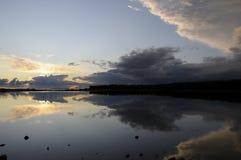 wieczór morze Obrazy Stock