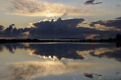 wieczór morze Zdjęcie Stock