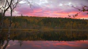 Wieczór na Jeziorze zdjęcie wideo