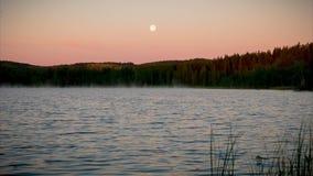 Wieczór na Jeziorze zbiory wideo