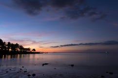 Wieczór na plaży Obrazy Stock