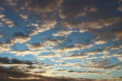 Wieczór natura składa romantyczny nastrój kolory grżą Region temperate klimat Europejski kontynent zdjęcia stock