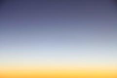 wieczór nieb nieba tekstura Zdjęcia Royalty Free