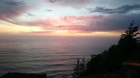 wieczór nieb nieba tekstura Zdjęcia Stock