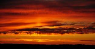 Wieczór niebo Obraz Royalty Free