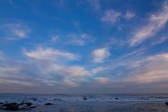 wieczór niebo Zdjęcie Royalty Free