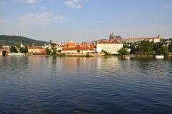 wieczór Prague Obraz Stock