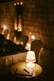 Wieczór restauraci przyjęcia przyjęcie Zdjęcia Royalty Free