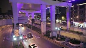 Wieczór ulicy Szanghaj zbiory wideo