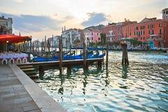 wieczór Venice Obrazy Stock
