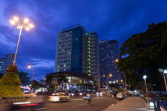 Wieczór w Nha Trang Obrazy Stock
