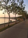 Wieczór w Udon zdjęcia stock