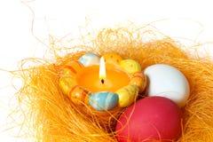 świeczek jajka Zdjęcia Stock