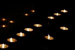 (1) świeczka Fotografia Stock