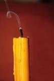 świeczka dym Zdjęcia Stock