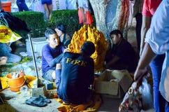 Świeczka festiwal roczny festiwal Nakhon Ratchasima Fotografia Royalty Free