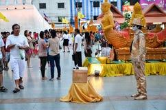Świeczka festiwal roczny festiwal Nakhon Ratchasima Obraz Stock